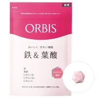 ORBIS(オルビス) 鉄&葉酸(ストロベリー風味) 徳用 75日~150日分(1.0g×150粒) サプリメント