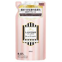 ラボン LAVONS 柔軟剤 詰め替え PEACH JOHN シークレットブロッサム 480ml