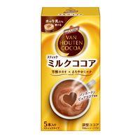片岡物産 バンホーテン ザ・ココア ミルクココア 1箱(5本入)