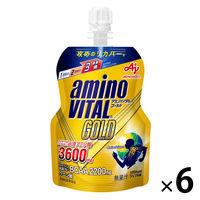 アミノバイタル GOLD ゼリータイプ 1箱(6個入) 味の素 アミノ酸ゼリー
