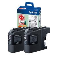 ブラザー インクジェットカートリッジ LC211BK-2PK ブラック 1パック(2個入) LC211シリーズ