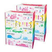 ティッシュペーパー 160組(5箱入) 1セット(2パック) エルモアピコティシュー カミ商事