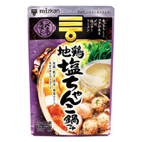 ミツカン地鶏塩ちゃんこ鍋つゆストレート
