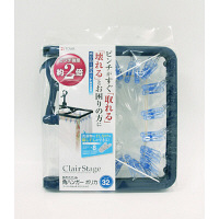 CLR 折りたたみ角ハンガー ポリカ 32P 21062 1個 東和産業 (取寄品)