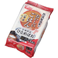 アイリスオーヤマ パックご飯 宮城県産ひとめぼれ 3P 310501 1袋(3食入)