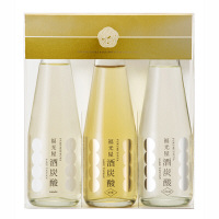 【福光屋】酒炭酸 3本セット(old<オールド>/clear<クリア>/tonic<トニック>) ギフトケース