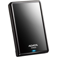 ADATA ポータブルHDD 2TB AHV620-2TU3-CBK 1台