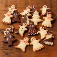 自分でつくる クリスマス型抜きクッキー