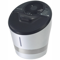 ドウシシャ kamome クレベリン ハイブリッド式加湿器 シルバー KKHQ-651C SI