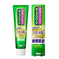 ディープクリーン ひきしめ塩 薬用ハミガキ 100g 1セット(2本) 花王 歯磨き粉