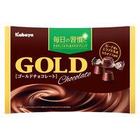 カバヤ ゴールドチョコレート 1袋