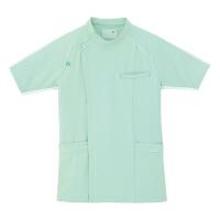 ルコックスポルティフ メンズジャケット(サイドファスナー 医務衣) UQM1001 グリーン EL (直送品)