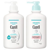 Curel(キュレル) シャンプー ポンプ 420mL+コンディショナー ポンプ 420mL 花王
