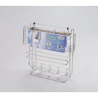 キッチンストレージ 冷蔵庫サイド収納ラック H-7347 パール金属 1個 (取寄品)