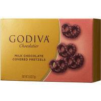 ゴディバ ミルクチョコレート ミニプレッツェル 1箱