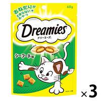 ドリーミーズ シーフード味 60g 1セット(3袋)