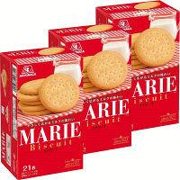 森永製菓 21枚 マリー 21881 1セット(3個入)