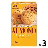 森永製菓 12枚 アーモンドクッキー 21885 1セット(3個入)