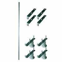 トーカイスクリーン E-placeパネル段差ジョイント (クロス連結) 高さ1870mm用 1セット (取寄品)