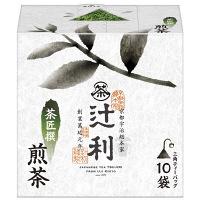 辻利 茶匠撰 煎茶 三角ティーバッグ 1箱(10バッグ入)