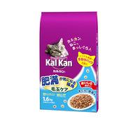 kalkan(カルカン) キャットフード ドライ 肥満 毛玉 まぐろ野菜 1.6kg 1袋 マースジャパン