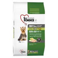 1st CHOICE(ファーストチョイス) ドッグフード 10歳以上の高齢犬用 ハイシニア チキン 小粒 6kg 1袋 アース・ペット