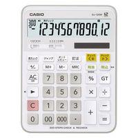カシオ計算機 チェック検算電卓 DJ-120W-N