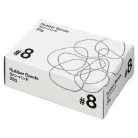 共和「現場のチカラ」 輪ゴム ラバーバンド #8 1箱(30g・約492本入)