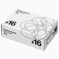 共和「現場のチカラ」 輪ゴム ラバーバンド #16 1箱(30g・約204本入)