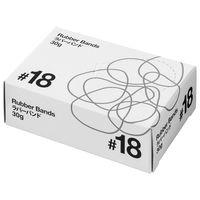共和「現場のチカラ」 輪ゴム ラバーバンド #18 1箱(30g・約175本入)