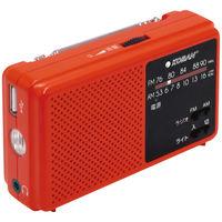 太知ホールディングス 備蓄ラジオ 赤 ECO-5