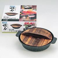 ストロングマーブル懐石 湯豆腐・すきやき鍋16cm ガス火専用 H-5368 パール金属 1個 (取寄品)