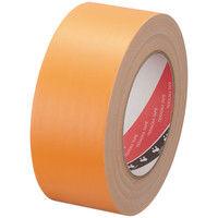 【ガムテープ】布粘着テープ No.145 0.31mm厚 50mm×25m オレンジ オリーブテープ 寺岡製作所 1巻