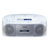 東芝 CDラジオカセットレコーダー TY-CDS7(S) シルバー 1台