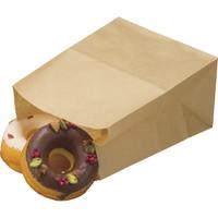 福助工業 耐油角底袋 未晒し 小 1セット(500枚:100枚入×5袋)