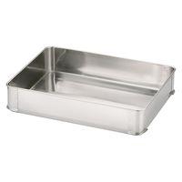 18-8餃子バット 大80 身 一段 AGY4005 大屋製作所 (取寄品)