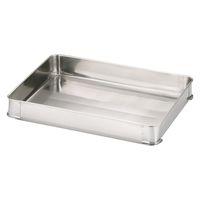 18-8餃子バット 大60 身 一段 AGY4006 大屋製作所 (取寄品)