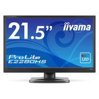 iiyama ワイド液晶ディスプレイ 21.5型ワイド E2280HS-B1 1台