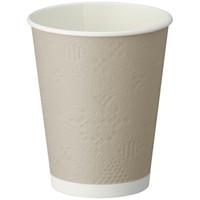 断熱レリーフカップ 400ml(14オンス) 1箱(1000個:50個入×20袋)