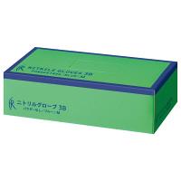 ファーストレイト ニトリルゴム手袋3B ブルー Mサイズ FR-5662 1箱(200枚入) (使い捨て手袋)