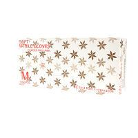 ファーストレイト ニトリル手袋 (粉なし) ピンク M 1箱(100枚)