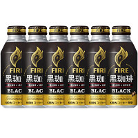 ファイア黒珈琲ブラック 400g 6缶