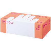 帝人フロンティア ラテックスゴム手袋パウダーフリー Sサイズ LTX-PF509S 1箱(100枚入) (使い捨て手袋)