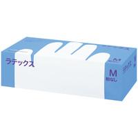 帝人フロンティア ラテックスゴム手袋パウダーフリー Mサイズ LTX-PF509M 1箱(100枚入) (使い捨て手袋)