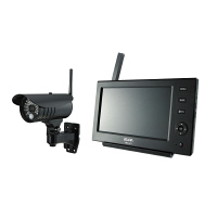 ELPA ワイヤレスカメラモニターセット 液晶モニターサイズ:7インチ CMS-7110 1セット