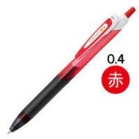 ゲルインクボールペン サラサドライ 0.4mm 赤 10本 JJS31-R ゼブラ