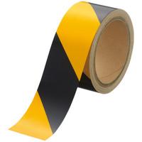 アスクル 反射テープ 幅50mmx長さ10m トラ柄 1セット(5巻)