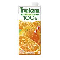 トロピカーナ100%オレンジ 1L 6本