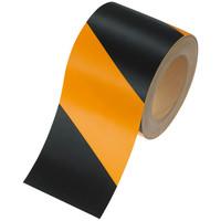 アスクル トラ柄布テープ 幅100mm×長さ25m 1巻