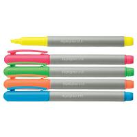 蛍光ペンインク容量1.5倍 5色アソート 1セット50本入 アスクル